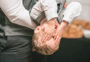 Boy-playing-with-his-dad