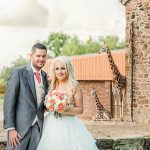 bride-and-groom-portrait-at-Chester-zoo