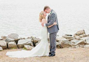 Wedding on a beech