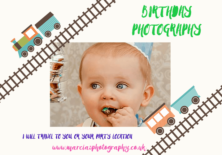 Birthday photographer - Get in touch