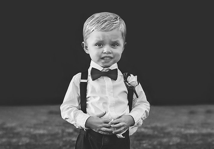 boy in a dicky bow
