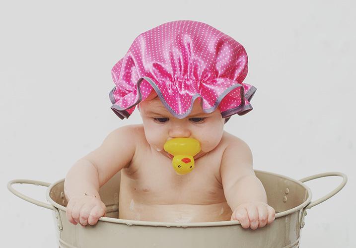 Bath Splash Photoshoot