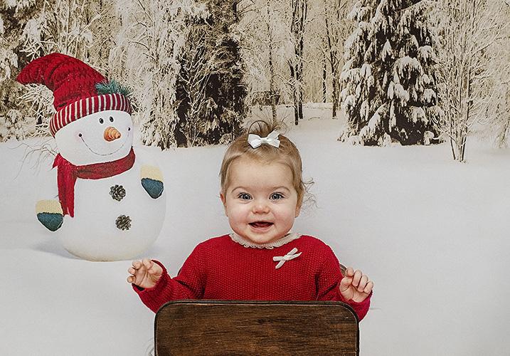 Little girl christmas - Home
