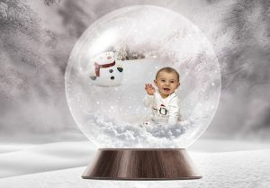 Toddler having a Christmas photoshoot 300x209 - My Blog