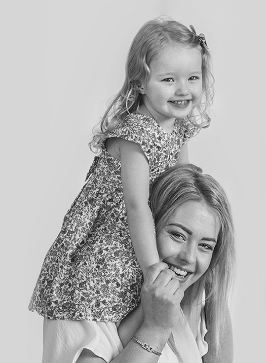 Mum and her daughter